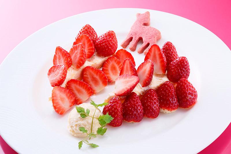 奈良の美味しいイチゴを召し上がれ!いちごフェアスイーツチケット付プラン/食事なし
