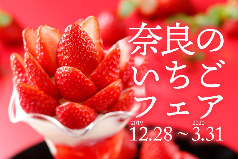 12/28~「奈良のいちごフェア」