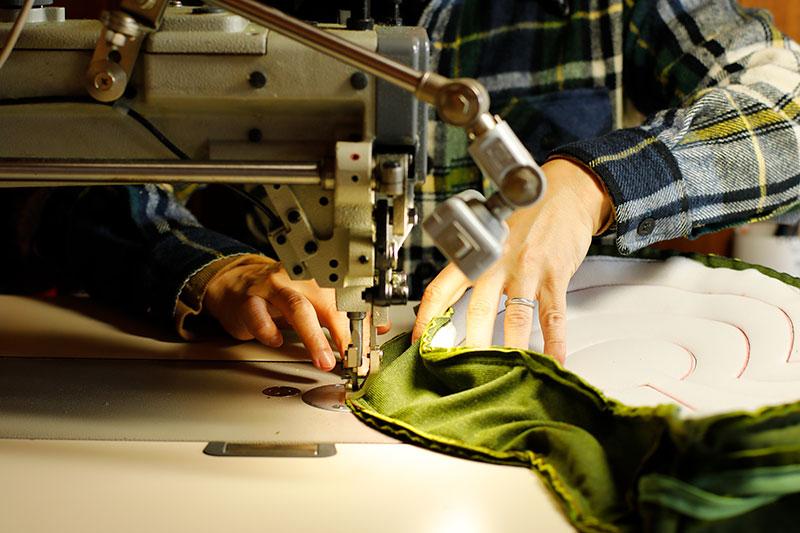 軽やかに縫い上げられる前方後円墳