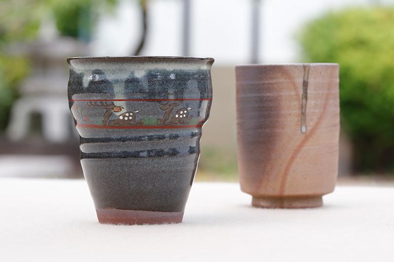 1,300年前の粘土を用いた作品も