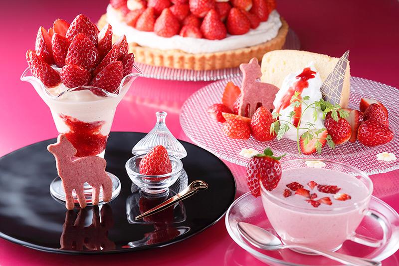 【初開催】奈良のいちごフェア!美味しいイチゴを召し上がれ