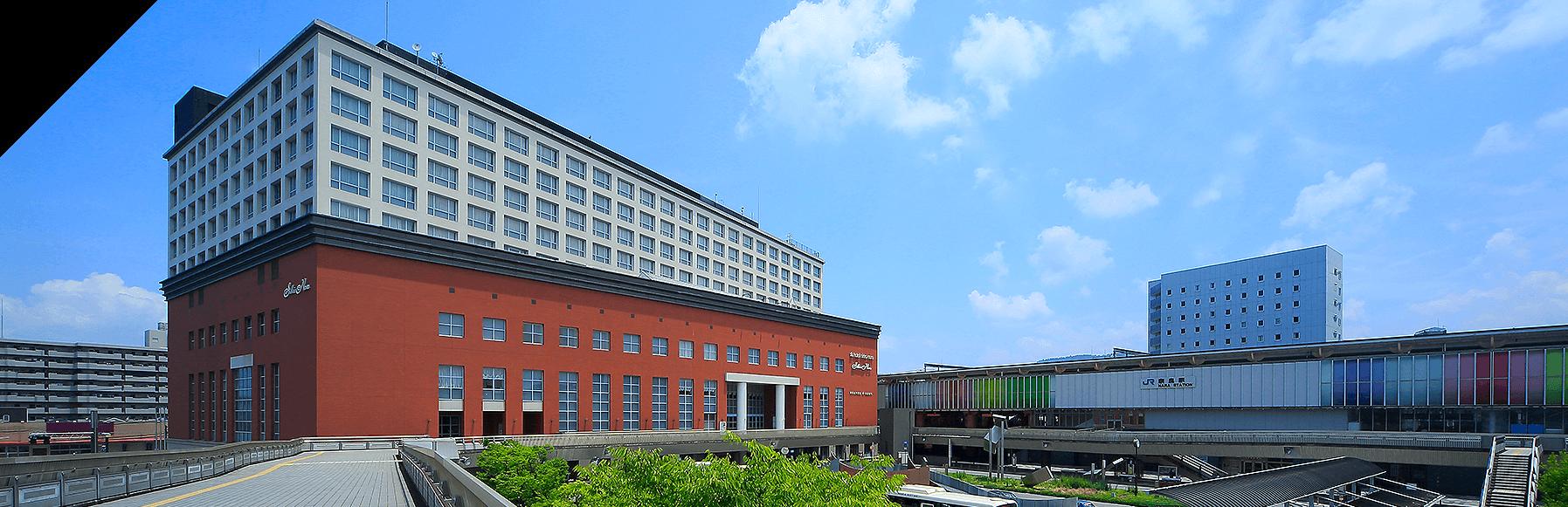 ホテル日航奈良【公式】 JR奈良駅西口直結。世界遺産徒歩圏内。