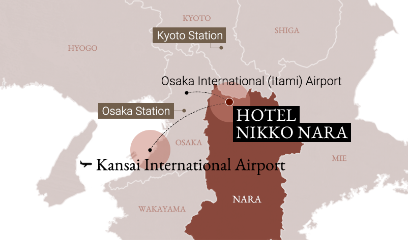 Access info   Hotel Nikko Nara [Official] Directly connected