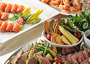 Party dish menu, catering