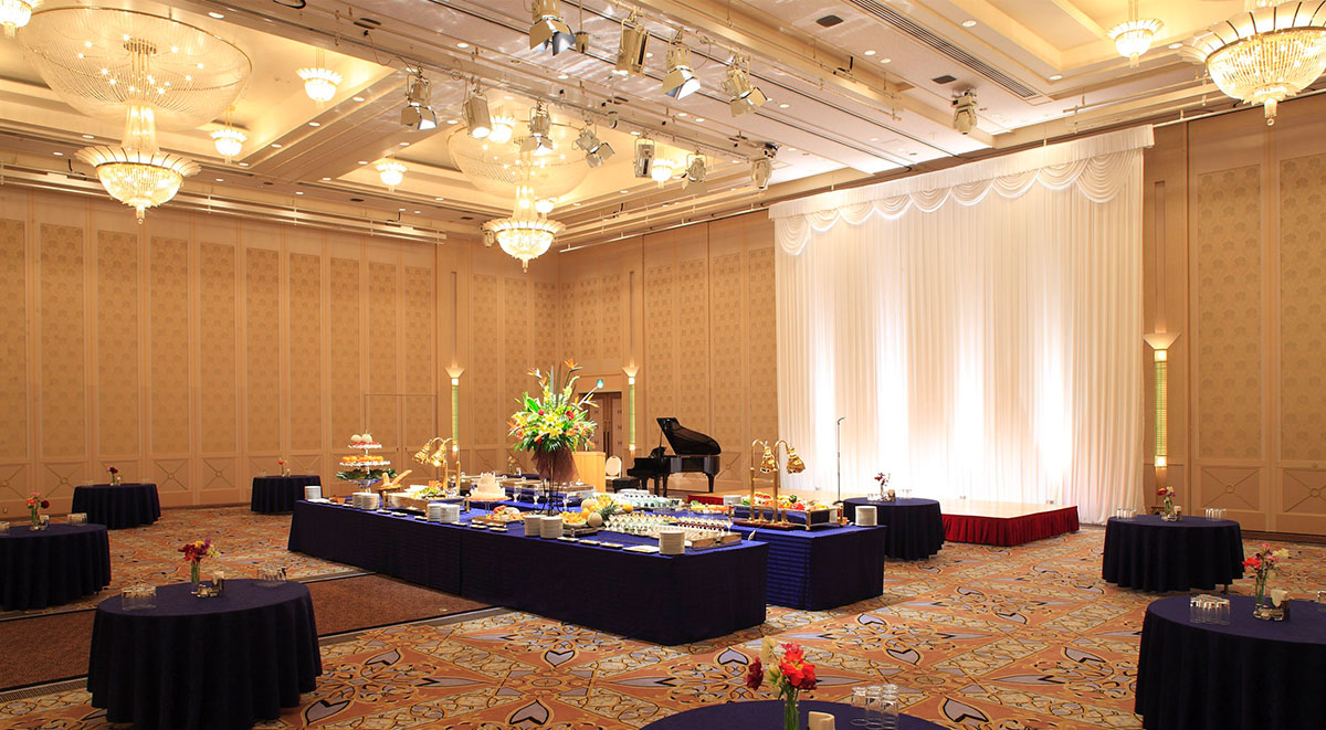 Large banquet halls