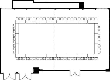 Block table arrangement
