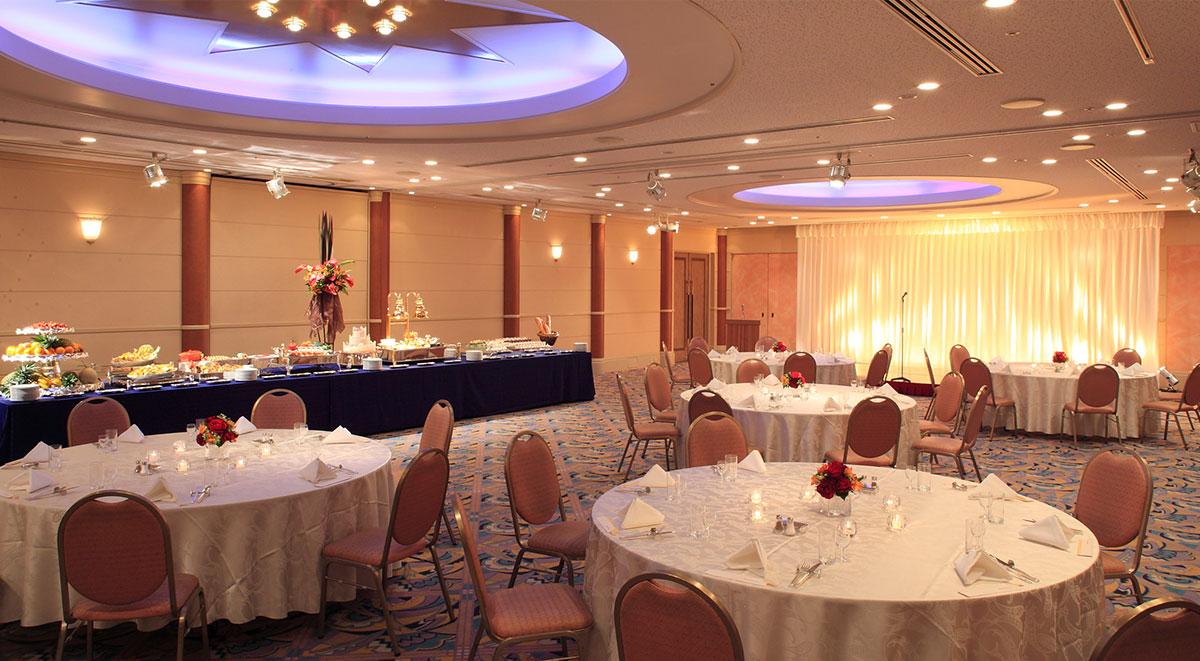 Mid-sized banquet halls