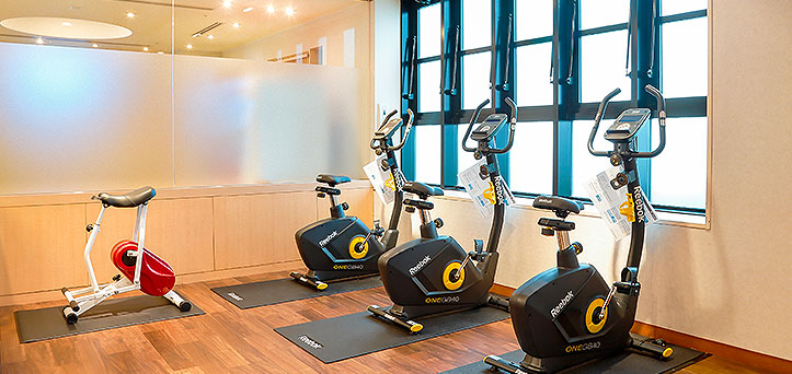 Fitness machine corner